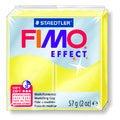 Pâte à modeler à cuire jaune Fimo Effect 8020-104 57g