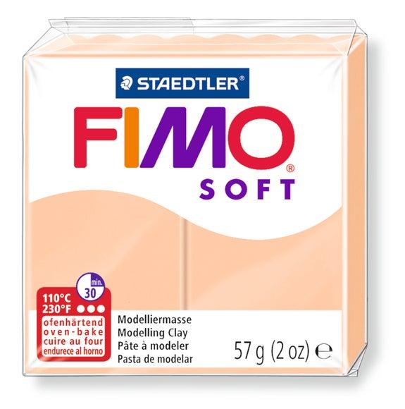 Achat en ligne Pâte à modeler à cuire chair Fimo Soft 8020-43 57g