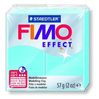 Pâte à modeler à cuire aqua Fimo Effect 8020-305 57g