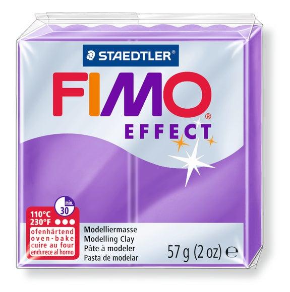 Achat en ligne Pâte à modeler à cuire lilas Fimo Effect 8020-604 57g