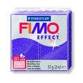 Pâte à modeler à cuire lilas pailletté Fimo 8020-602 57g