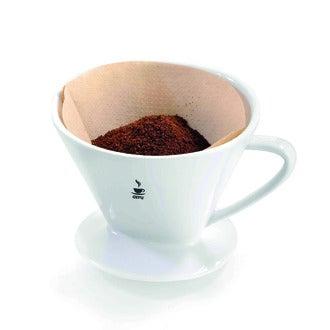 GEFU - Porte filtre à café en porcelaine