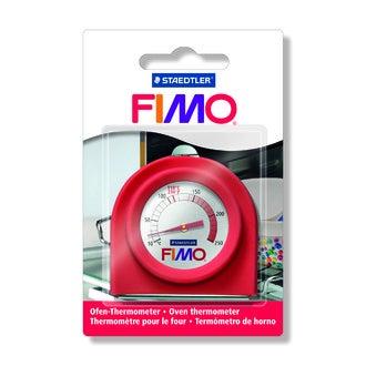 Thermomètre pour four ménager en métal rouge de 0°c à 250°c