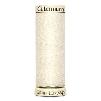 ECLAIRPRYM - Fil à coudre en polyester blanc N°1 100 m