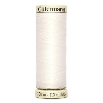 ECLAIR PRYM - Fil à coudre blanc en polyester N°111 100m