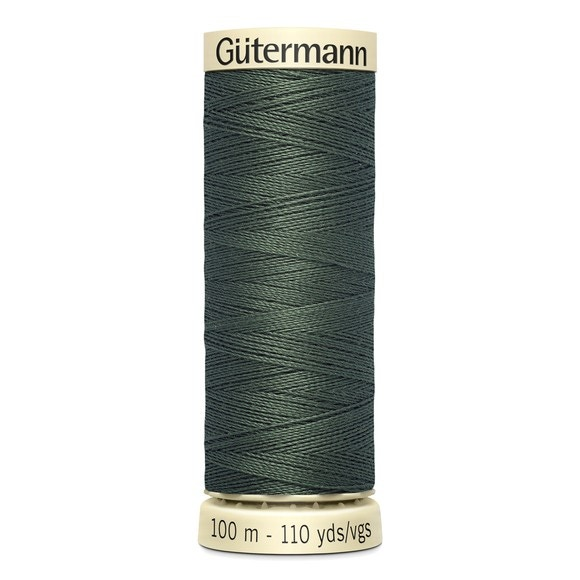 Fil à coudre vert en polyester N°269 100m