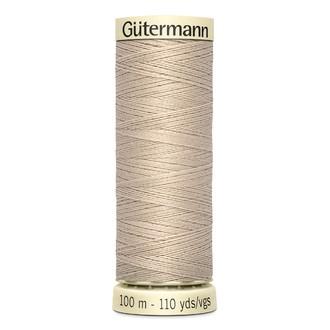ECLAIR PRYM - Fil à coudre beige en polyester N°722 100m
