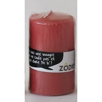 Zodio - bougie cylindrique cranberry 10x5,7cm