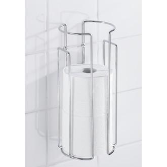 WENKO - pour 3 rouleaux de papier toilette chrome