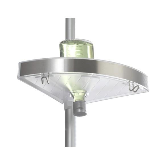 acquista online Scaffale telescopico in alluminio e acciaio inox Premium