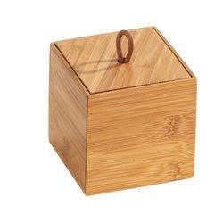 compra en línea Caja de bambú con tapa organizadora S (9 x 9 x 9 cm)