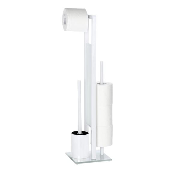 Achat en ligne Valet avec porte brosse dérouleur et porte papier toilette