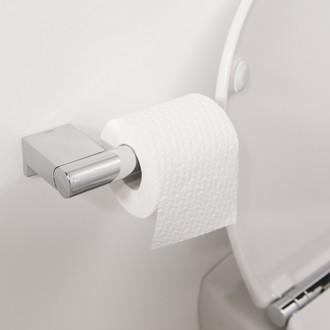 Dérouleur papier toilette chrome