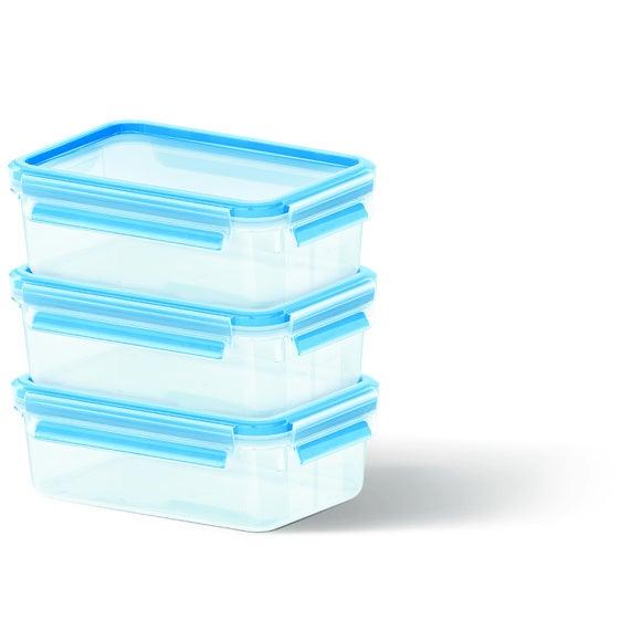 Boite de conservation rectangulaire Clip&Close plastique 1L