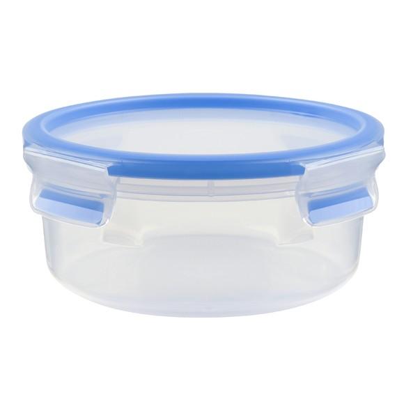 Boite de conservation ronde Clip&Close en plastique 0,85L