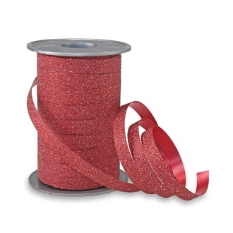 Bolduc brillant rouge 10mmx10mm