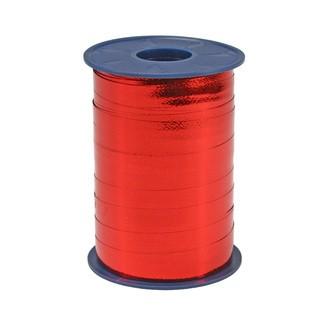Bolduc métallique rouge 10mmx250m