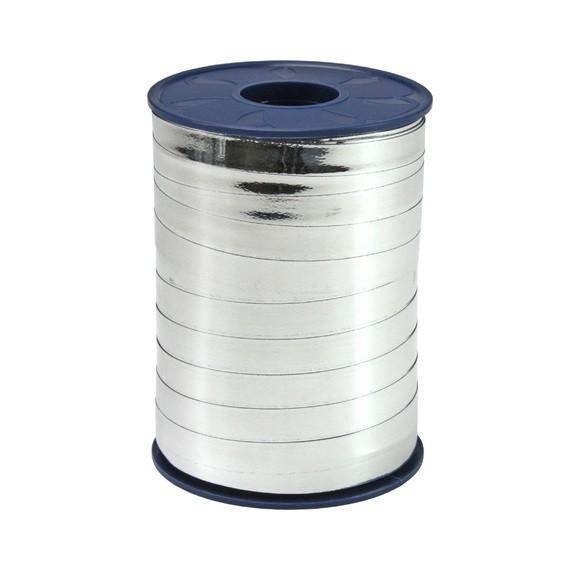 Bolduc métallique argenté 10mmx250m
