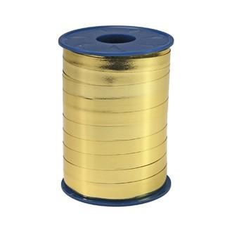 Bolduc métallique doré 10mmx250m