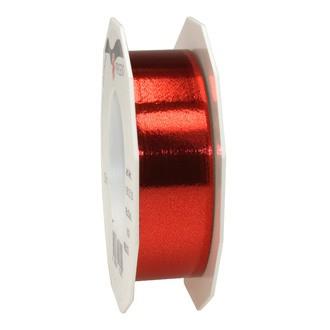Bolduc métal rouge 25mmx25m