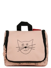 Achat en ligne Trousse de toilette enfant motif chat rose