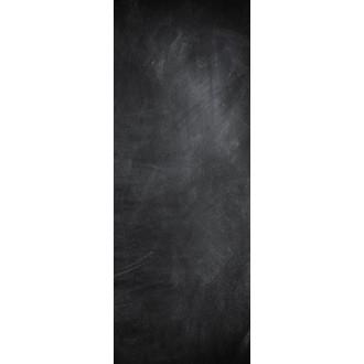 Tableau mémo verre magnétique décor ardoise 30x80cm