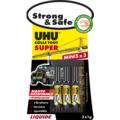 Glue strong & safe liquide 3x1g