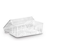 Achat en ligne Boîte rangement 18 bobines plastique13,6x6x7,8cm