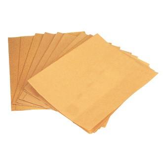 Set de 20 feuilles en papier abrasif