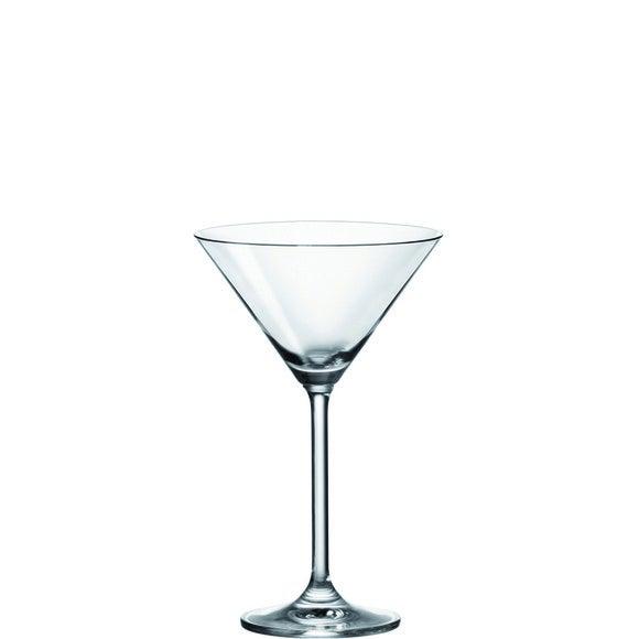 Achat en ligne 6 verres à martini coniques en verre transparent