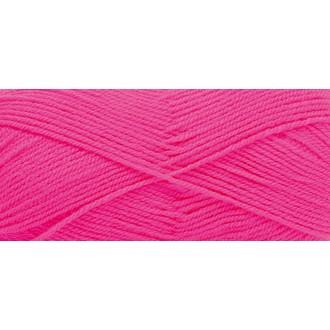 Pelote basic acrylic dk 100g pink fluo