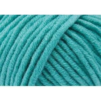 Pelote de laine turquoise big 50g