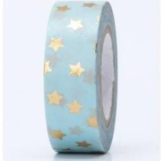 Masking tape étoiles or hot foil