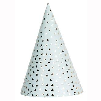 RICO DESIGN - Set de 4 chapeaux de fête imprimé graphique