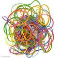 indispensables élastiques multicolores