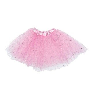 RICO DESIGN - Tutu rose pailleté