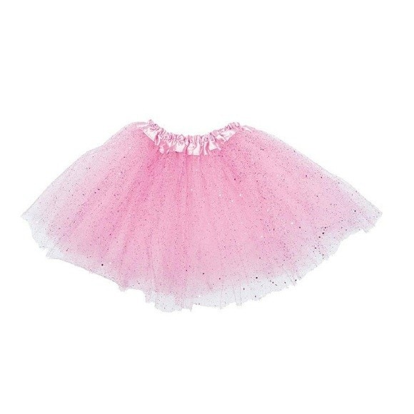 Tutu rose pailleté