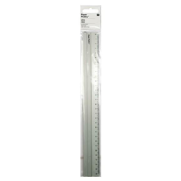 Achat en ligne Indispensable règle aluminium 30cm
