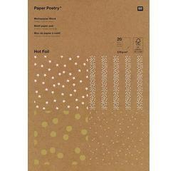 Achat en ligne Bloc de 30 feuilles A4 pour scrapbooking -Kraft Point