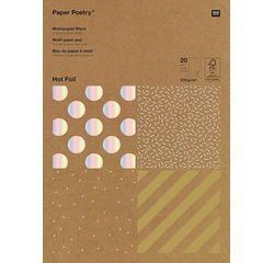 Achat en ligne Bloc de 30 feuilles A4 pour scrapbooking -Kraft Rayur
