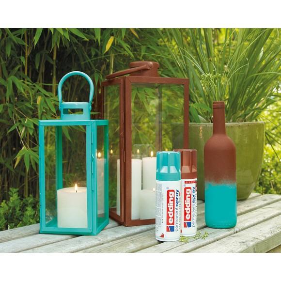 Peinture aérosol turquoise mat en spray 200 ml