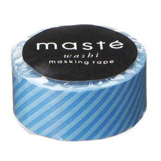 Masking tape mini rayure blue 15mmx7m