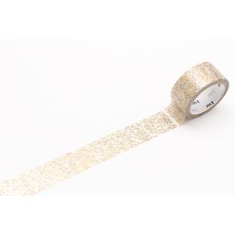 Masking tape métallisé particules or 15mmx3m