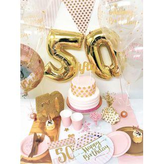 Sachets de bonbons transparents avec pois or