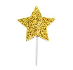 acquista online Decorazione stecchini stella d'oro