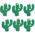 6 décors sucre cactus 17g