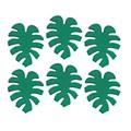 Décors en sucre 6 feuilles tropicales 12g