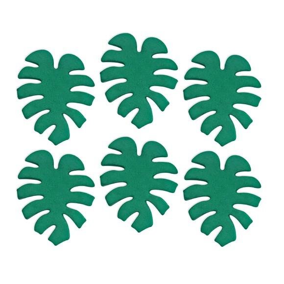 Achat en ligne Décors en sucre 6 feuilles tropicales 12g