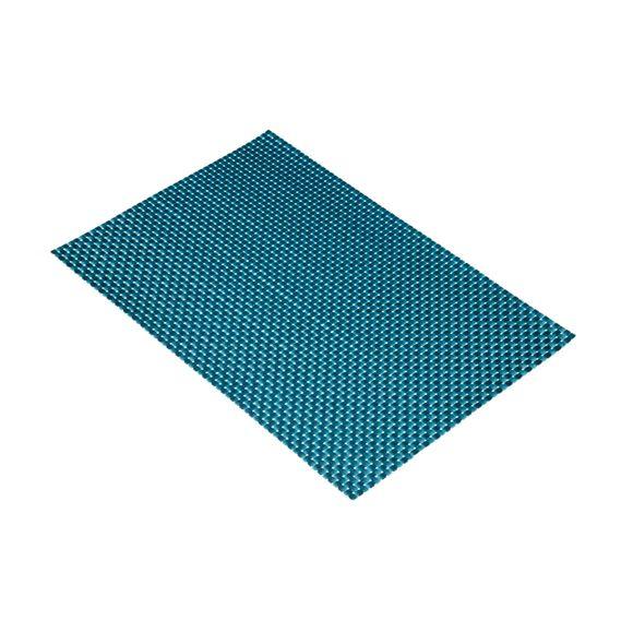 Set de table en PVC, bleu pétrole 30x45cm
