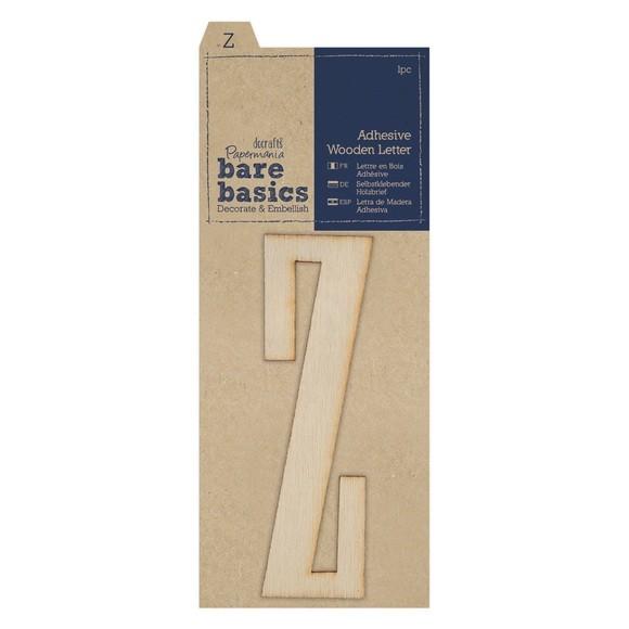 Lettre Z à décorer en bois adhésif 10cm